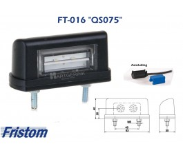Nummerplaatverlichting LED FRISTOM FT-016  QS075