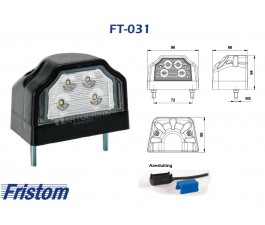 Nummerplaatverlichting LED FRISTOM FT-031  QS150