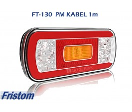 Achterlicht led FRISTOM FT-130 PM kabel