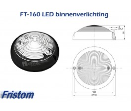 Binnenverlichting LED FRISTOM FT-160 CZ LED
