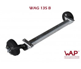 WAP as geremd - 1350kg  - padmaat: 1000mm