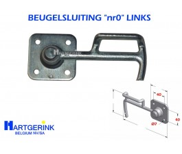 BEUGELSLUITING NR-0 LINKS