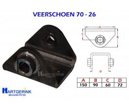 VEERSCHOEN 70x26