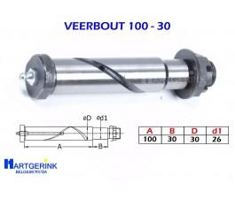 VEERBOUT 100x30