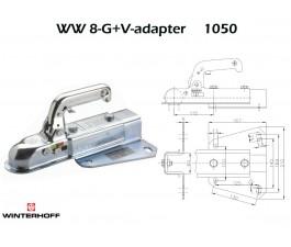 Koppeling WINTERHOFF WW8-G+V-adapter