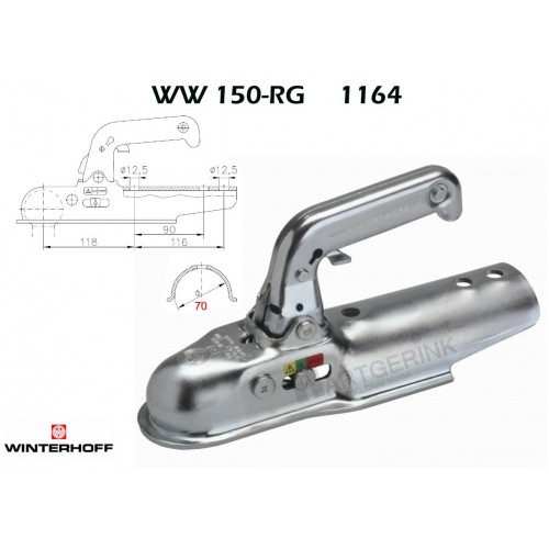 Koppeling WINTERHOFF WW150-RG