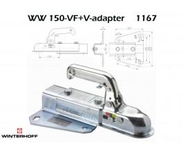 Koppeling WINTERHOFF WW150-VF+V-adapter