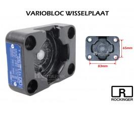 Variobloc Rockinger Wisselplaat ROE100C01001