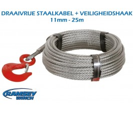 Staalkabel 11 mm - 25 m